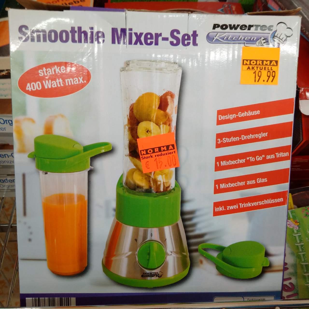 Powertec Smoothie Mixer-Set 400 Watt