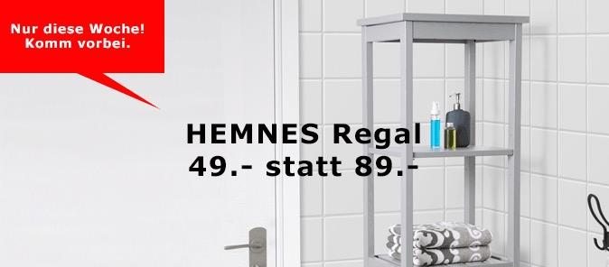 IKEA HEMNES Regal, 42x172 cm