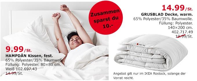 IKEA HAMPDAN Kissen - jetzt 33% billiger