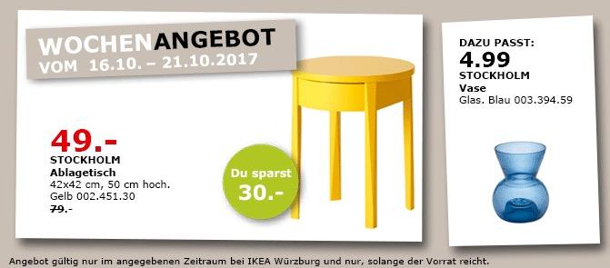 IKEA STOCKHOLM Ablagetisch