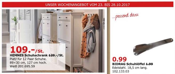 IKEA HEMNES Schuhschrank
