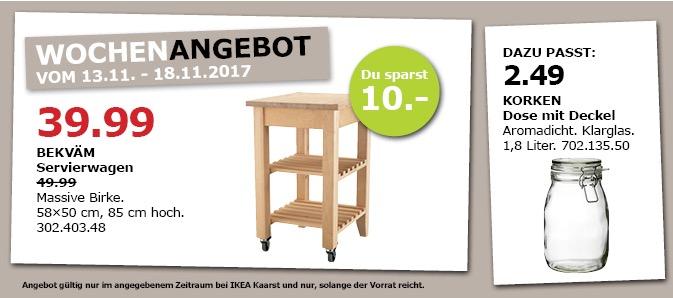 IKEA BEKVÄM Servierwagen