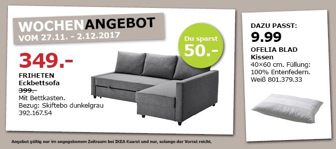 IKEA FRIHETEN Eckbettsofa