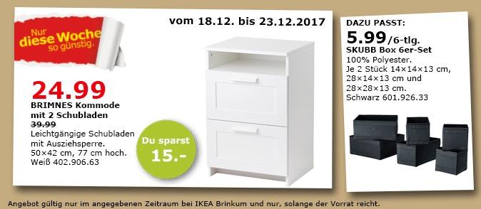 IKEA BRIMNES Kommode