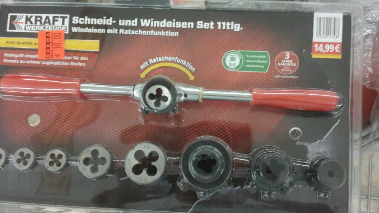 Schneid -und Windeseile Set 11tlg.