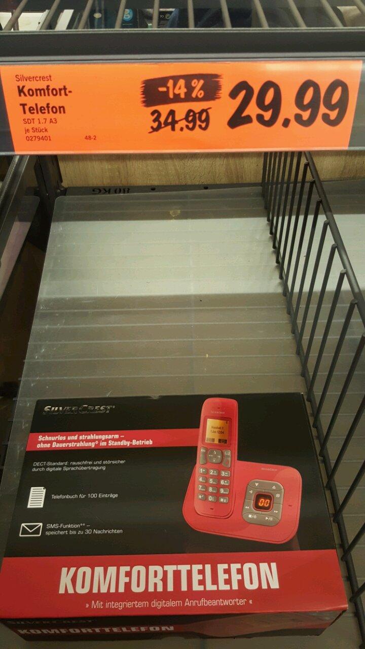 Komfort-Telefon mit digitalem Anrufbeantworter