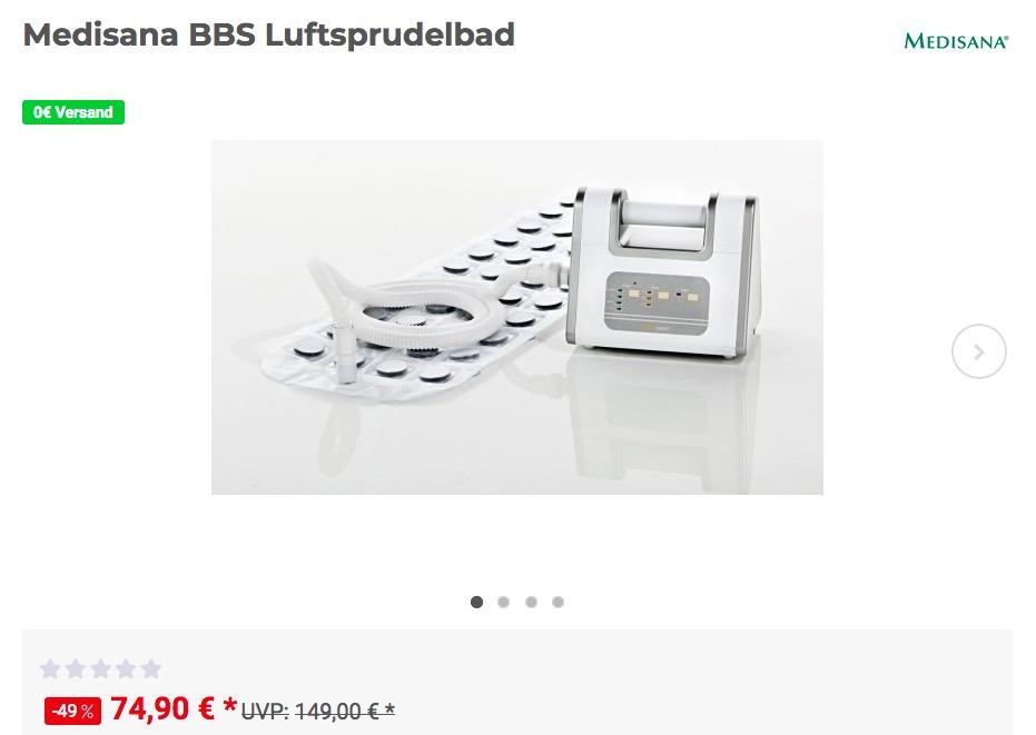 Medisana BBS Luftsprudelbad