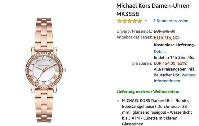 Michael Kors Damenuhr MK3558