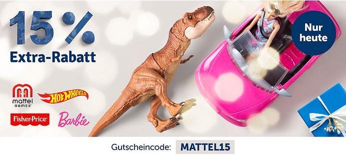 myToys - 15 % Rabatt auf Artikelder Marke Mattel: z.B. Barbie 2-in-1 Krankenwagen Spielset (mit Licht & Geräuschen)