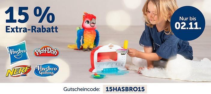 myToys.de 15% Extra-Rabat auf Artikel der Marke Hasbro: z.B. Hasbro FurReal Friends JJ, mein hopsender Mops