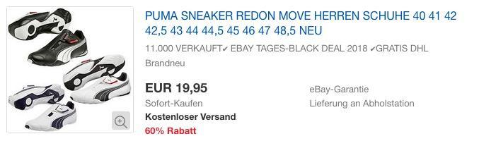 Puma Redon Move Herren Sneaker
