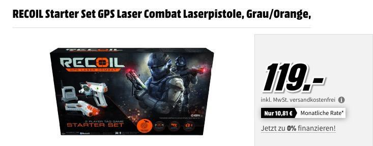 RECOIL Starter Set GPS Laser Combat Laserpistole