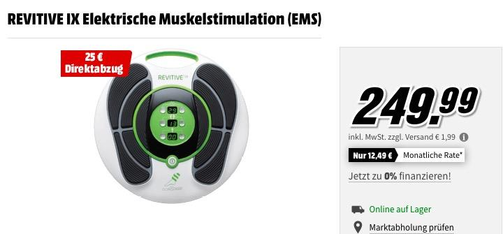 REVITIVE IX Elektrische Muskelstimulation