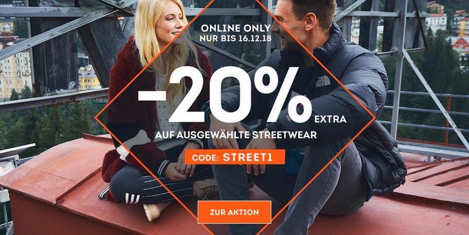SportScheck.com - 20 % Extra-Rabatt auf ausgewählte Streetwear: z.B. Tommy Jeans Down Coat - Damen Daunenjacke in Rumba-Red