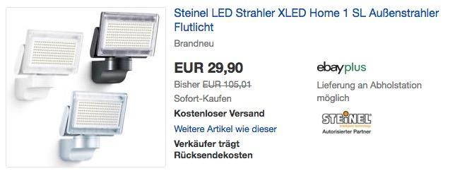 Steinel LED-Strahler XLED Home 1 Slave