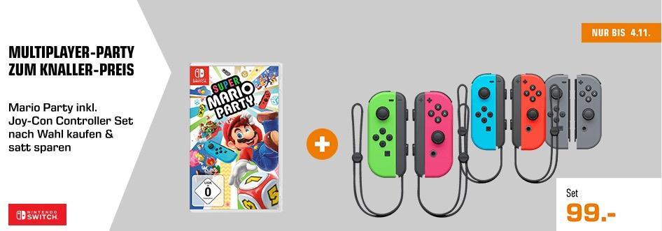 Super Mario Party - Nintendo Switch inkl. NINTENDO Switch Joy-Con 2er-Set