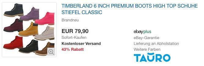 Timberland 6 Inch Premium Junior Boot, Stiefel für Mädchen und Damen