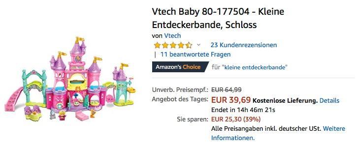 Vtech Baby 80-177504 - Kleine Entdeckerbande Schloss